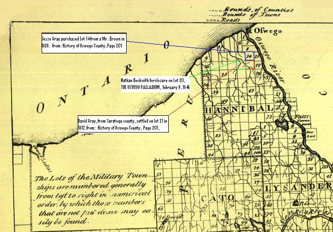 Map Of New York Oswego.Historical Maps Of Oswego New York